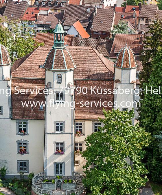 Luftbild Bad Säckingen Schloss FS P1050631