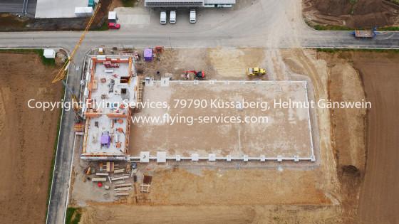 Luftbild Bau- & Fortschrittsdokumentation Industriehalle FS P1010118