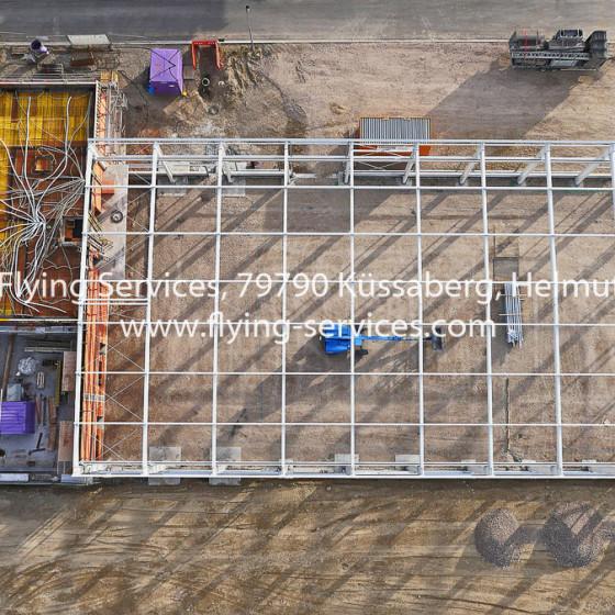 Luftbild Bau- & Fortschrittsdokumentation Industriehalle FS P1020048
