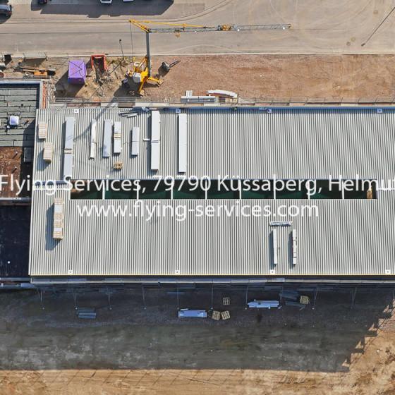 Luftbild Bau- & Fortschrittsdokumentation Industriehalle FS P1040389