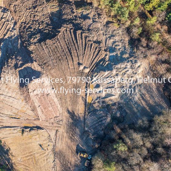 Luftbild Dokumentation Deponie Renaturierung FS P1000333