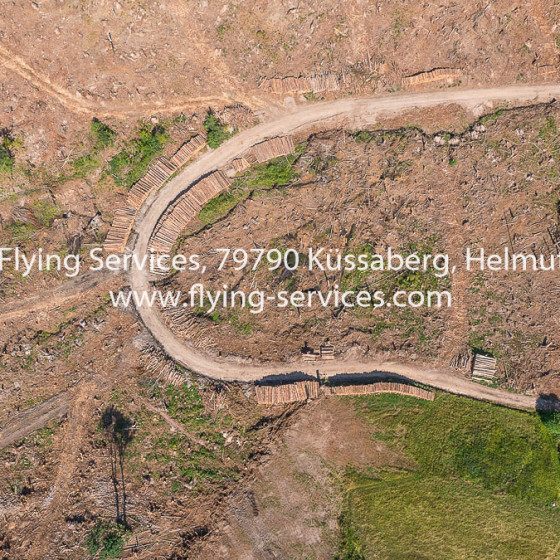 Luftbild Dokumentation Tornado Schaden 2015 Bonndorfer Wald FS P1050787