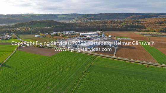 Luftbild Gewerbegebiet Küssaberg FS P1020066