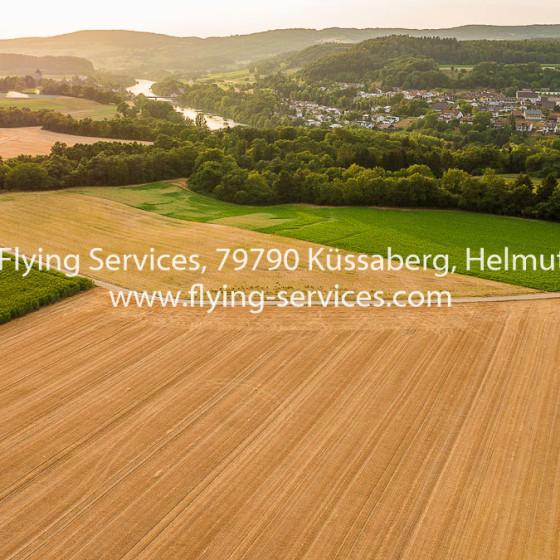 Luftbild Hohentengen Rheinabwärts FS P1050221