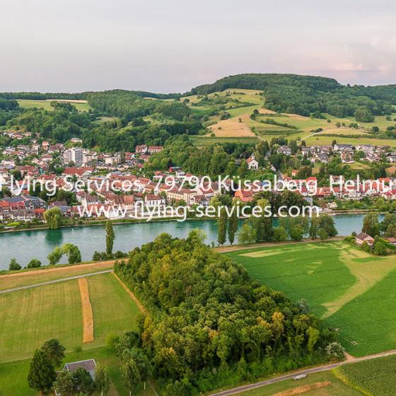 Luftbild Kadelburg aus CH-Sicht FS P1050232