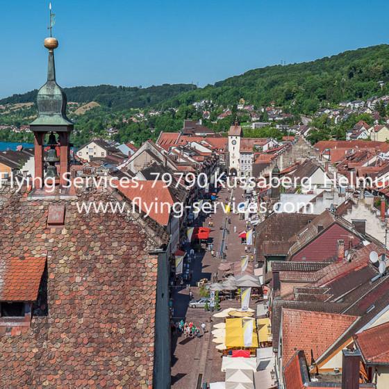 Luftbild Stadt Waldshut Kaiserstrasse FS P1050365