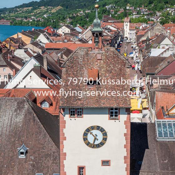 Luftbild Stadt Waldshut Oberes Tor FS P1050345