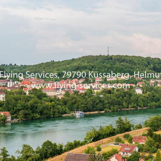 Luftbild Stadt Waldshut aus CH-Sicht FS P1050165