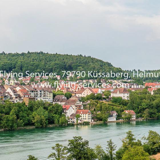 Luftbild Stadt Waldshut aus CH-Sicht FS P1050168