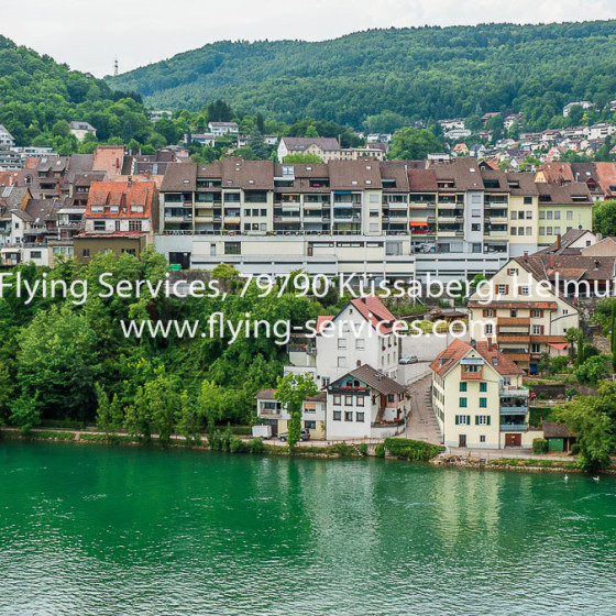Luftbild Stadt Waldshut aus CH-Sicht FS P1050177