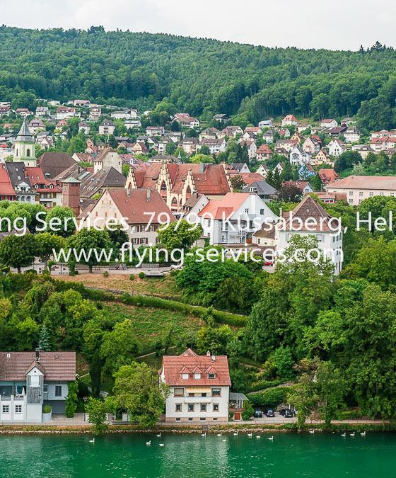 Luftbild Stadt Waldshut aus CH-Sicht FS P1050179